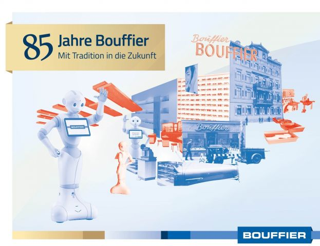 Collage 85 Jahre Brillen Bouffier mit Robotor Pepper